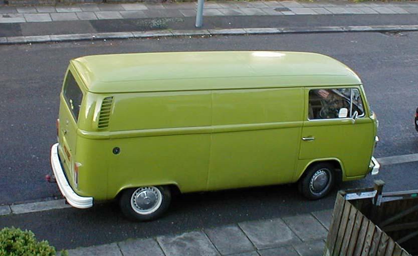 my '78 panel van