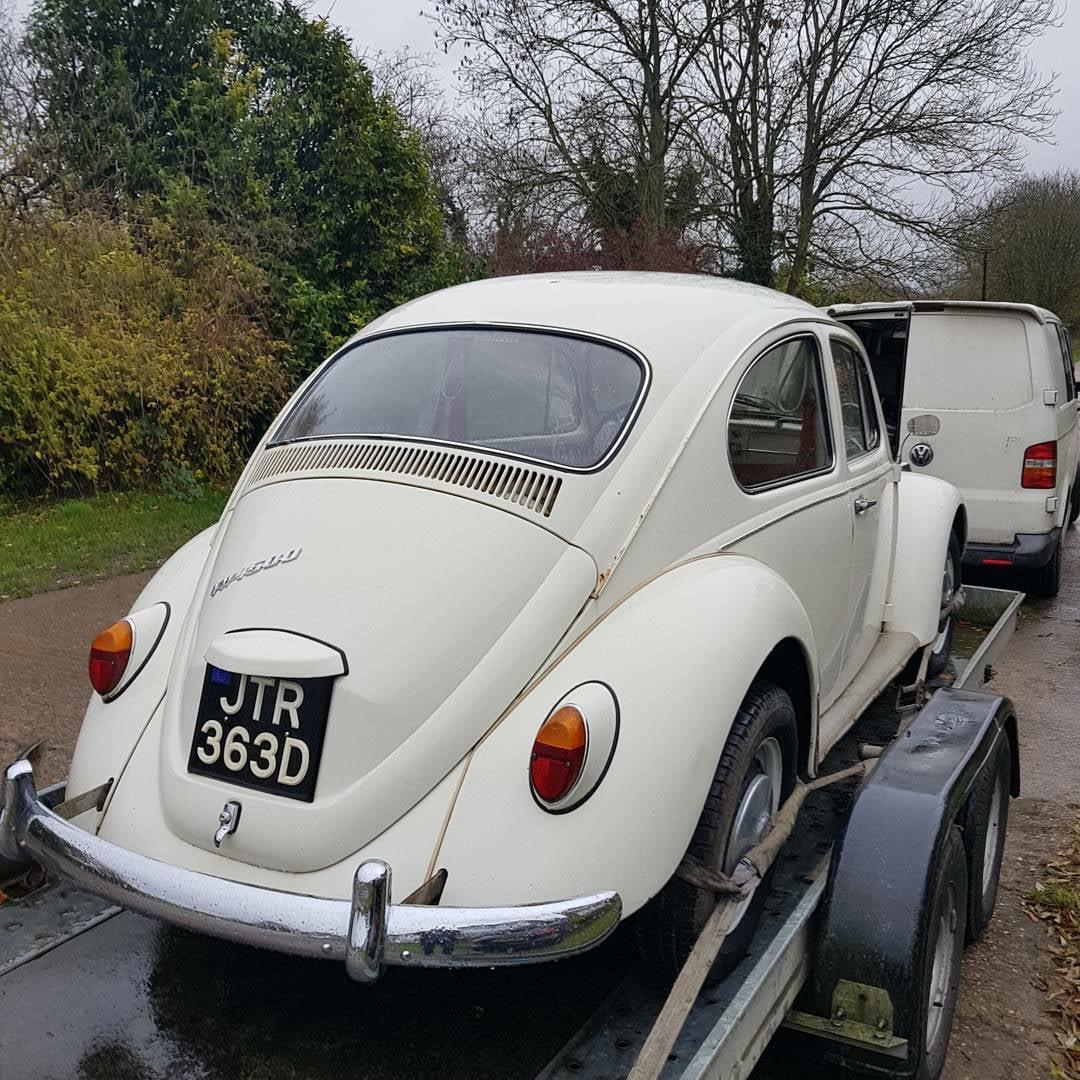 Bought my old Euro 67 1500 Bug back today