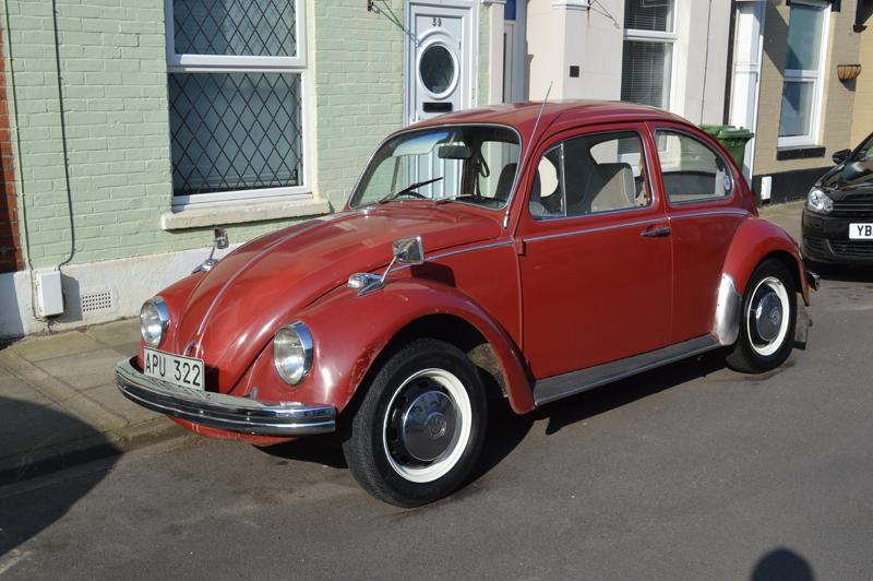 1970 1500 RHD Swedish Postal Beetle