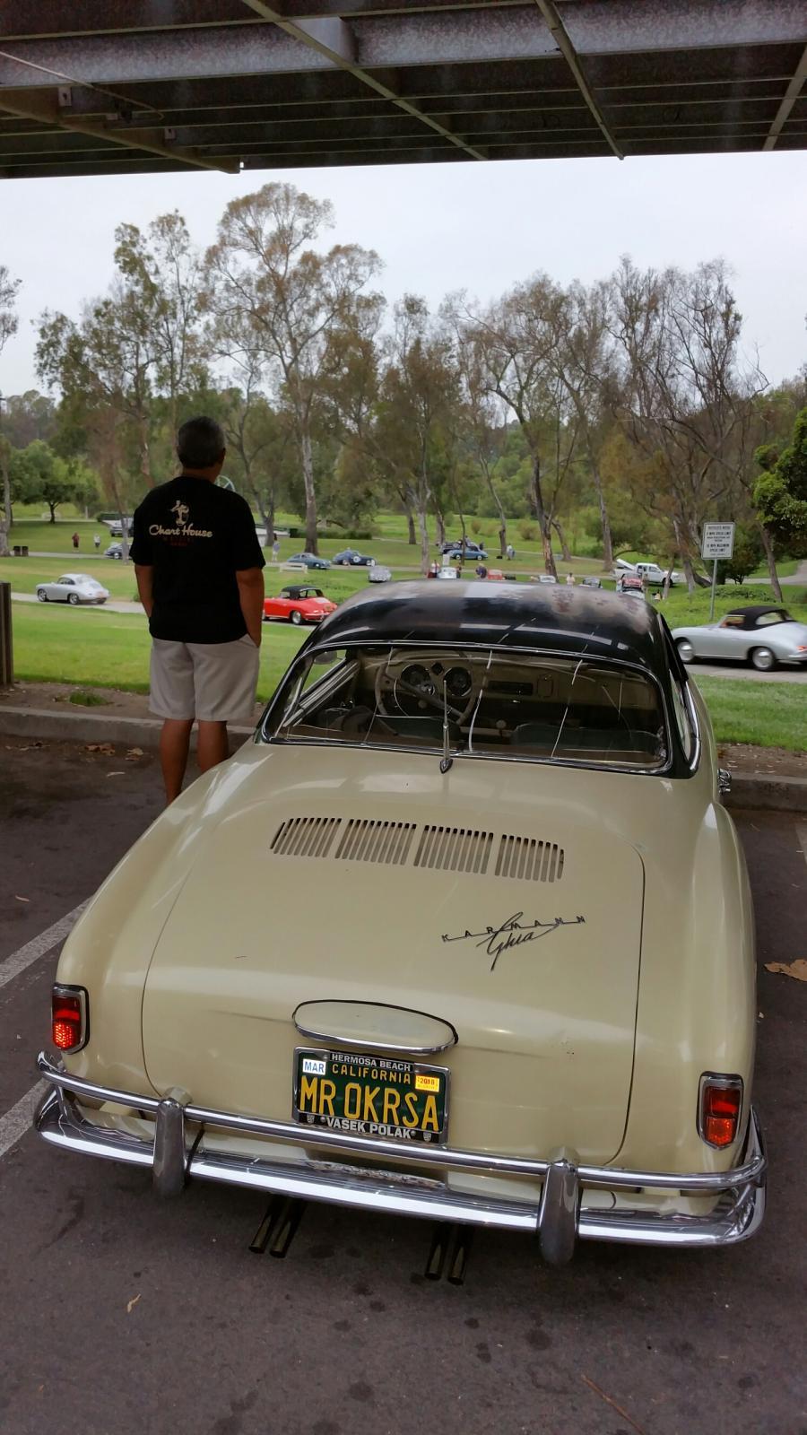 Nov. 1958 Original Paint Denzel Powered Lowlight Ghia.