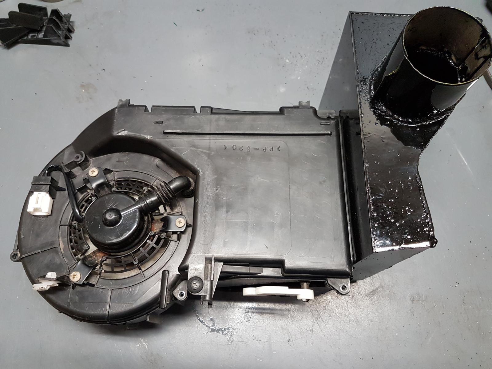 Heater core addition Subaru