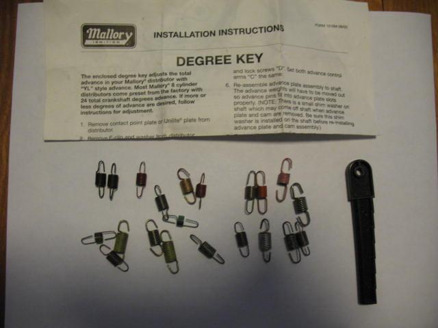 Mallory YL Spring Kit