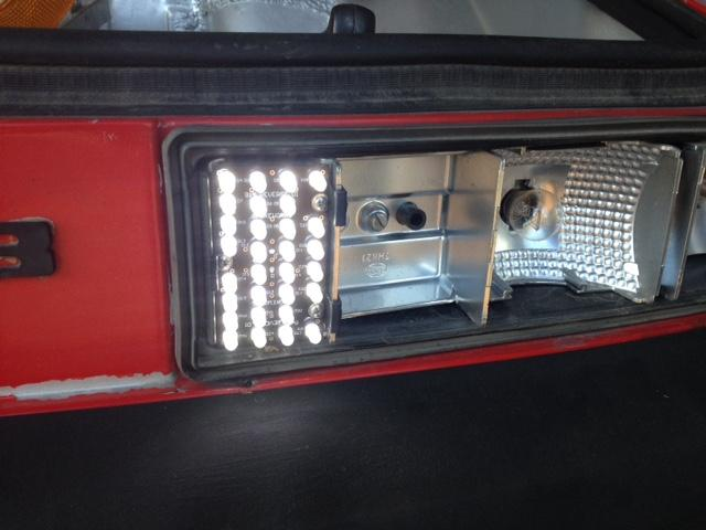 LED lights on a 914 from Spoke