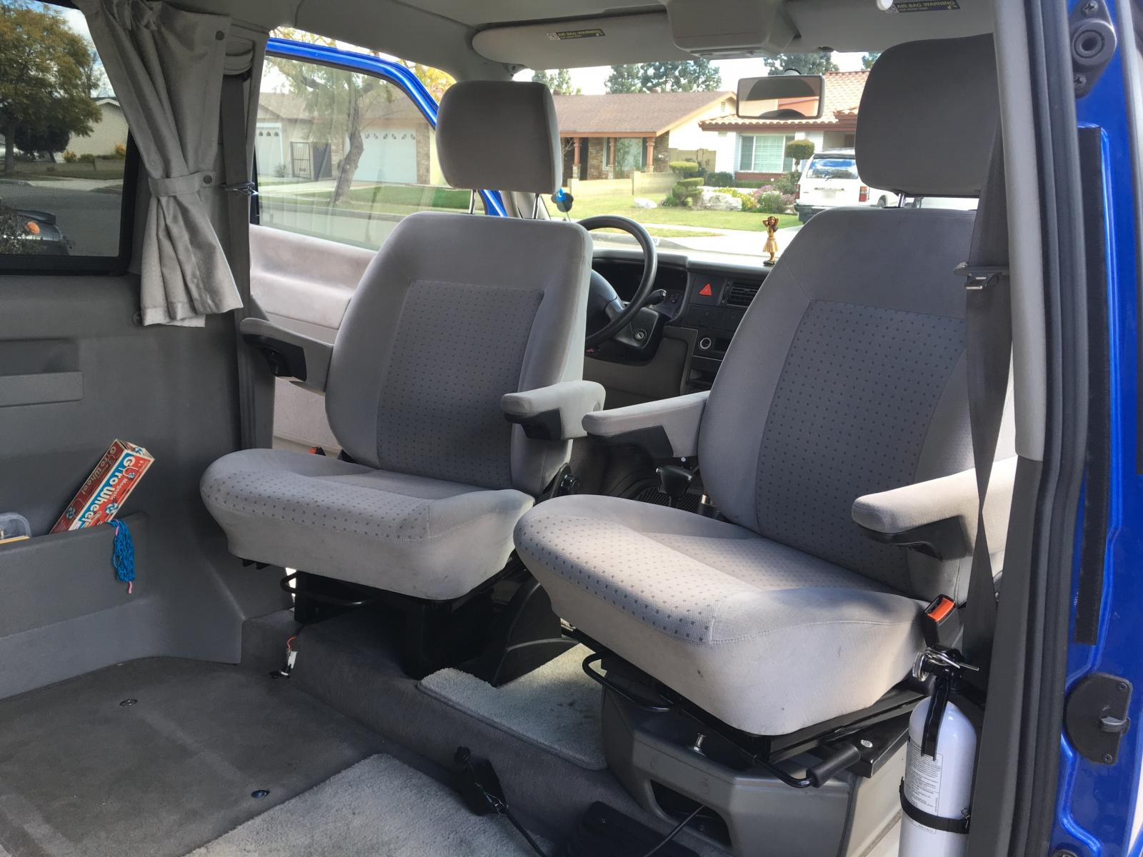 TheSamba com :: Eurovan - View topic - Upgraded front seats