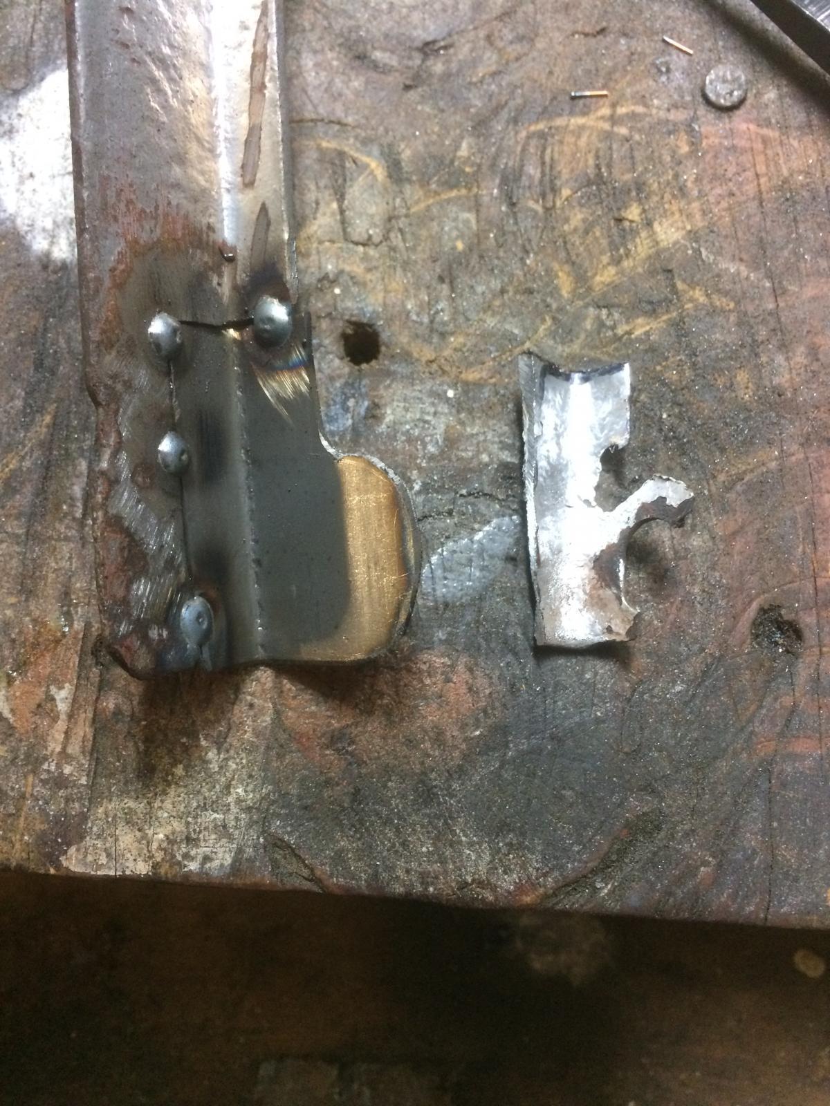 Alternator bracket repair