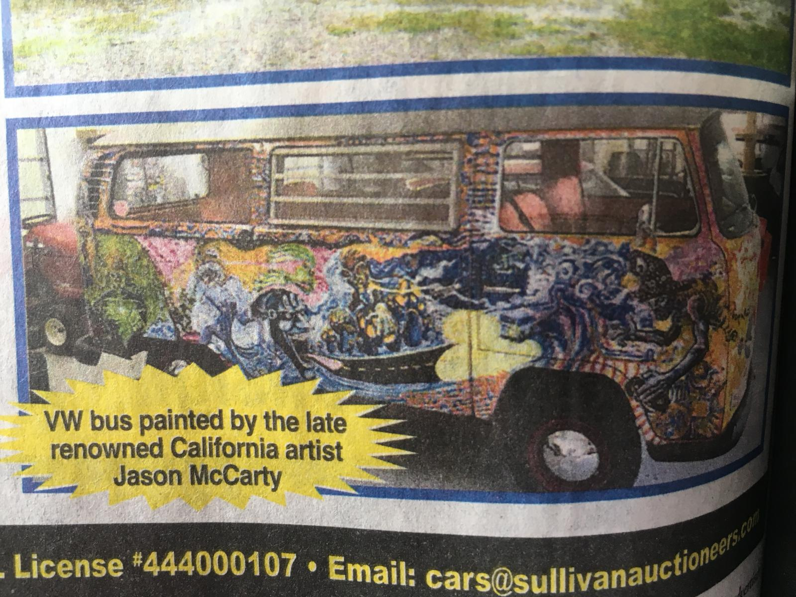 Painted bus