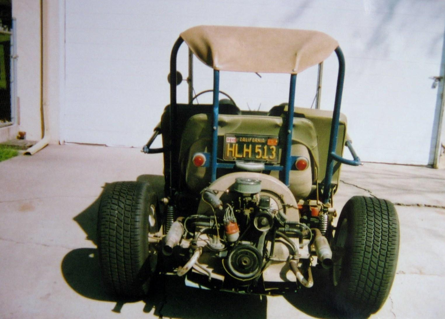 1957 Beetle modified to Pismo Cruiser