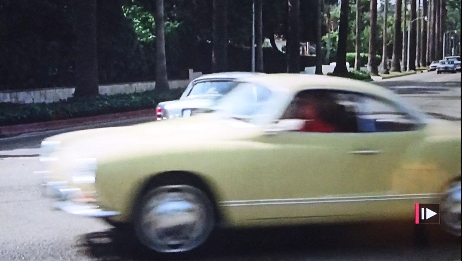 "Karmann Ghia in the film ""Shampoo"""