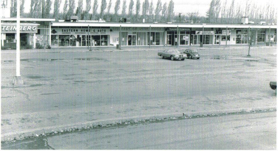Oromocto, New Brunswick in the 70's.