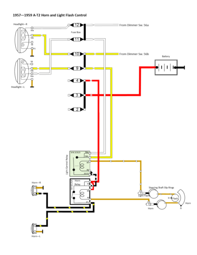 Horn Relay Wiring Diagram For Connections - Wiring Diagrams on