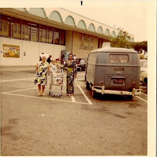 Malibu , California  - Market Basketearly 70's