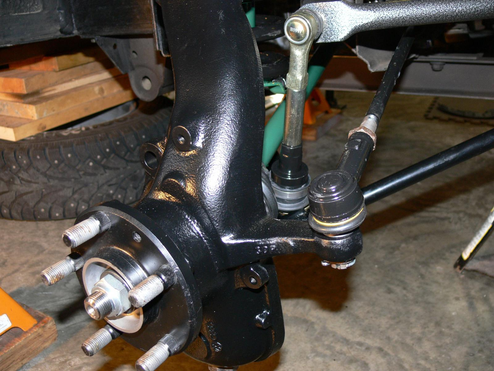syncro front suspension rebuild