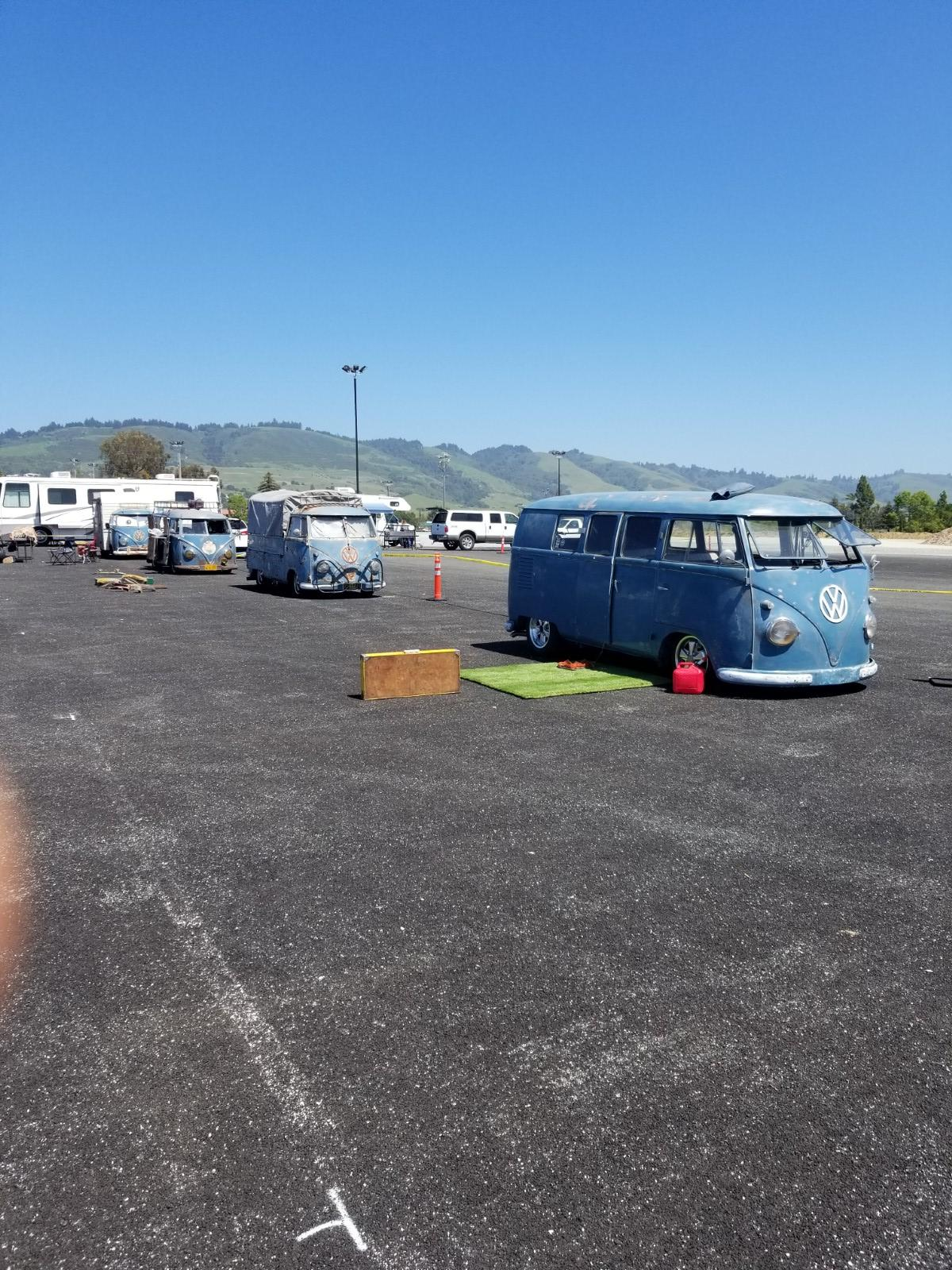 Dove Blue Buses at Red Barn 2018
