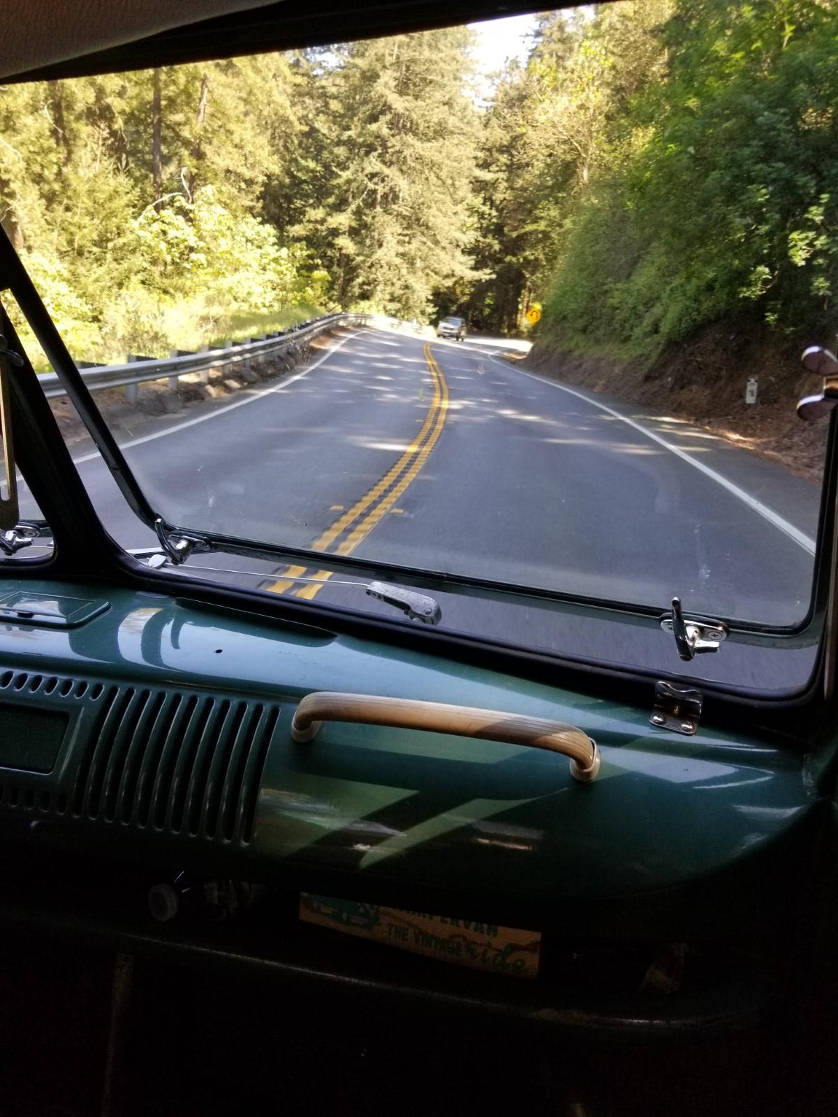 Crusing the Santa Cruz mountains after Red Barn 2018