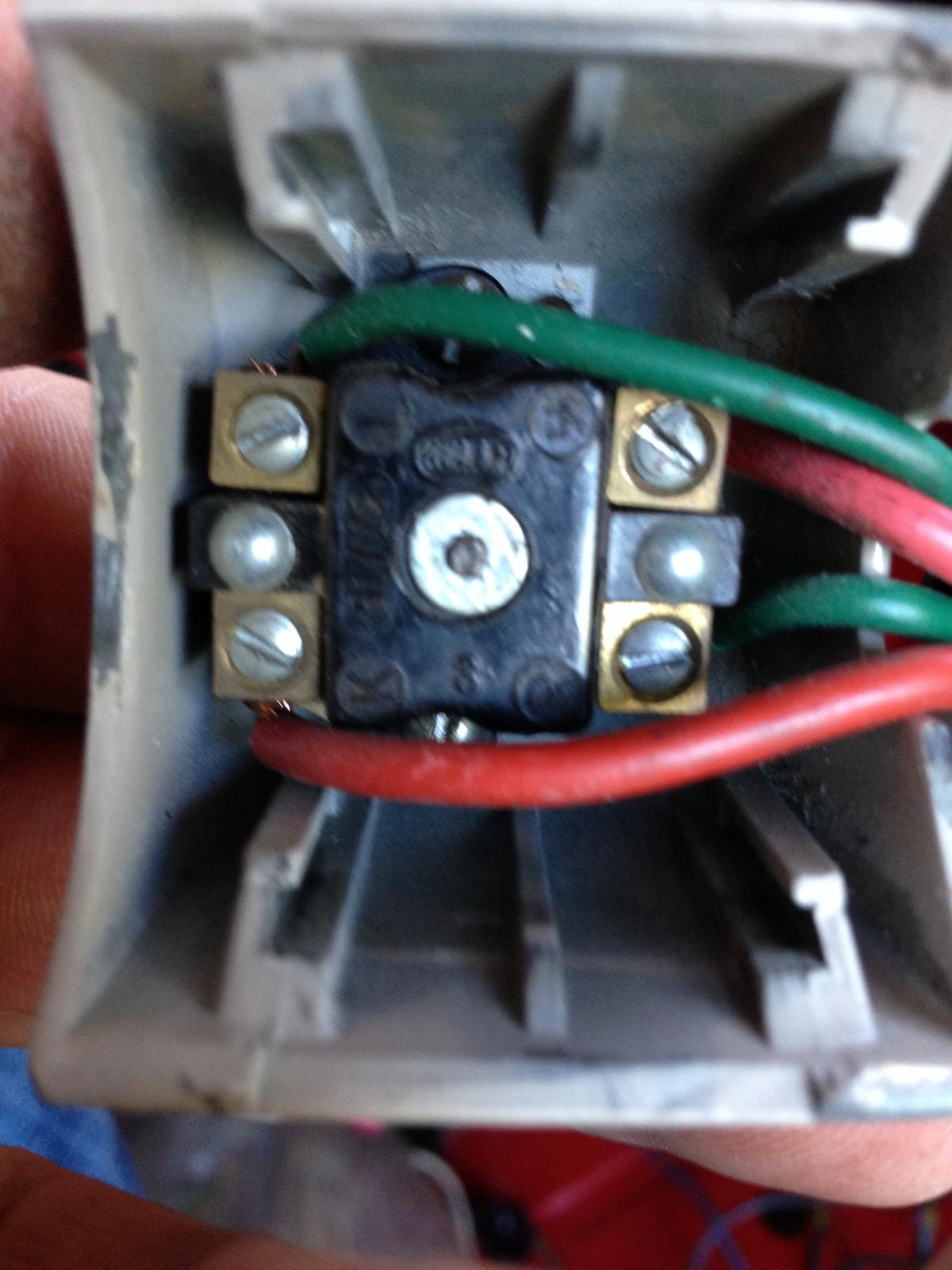 Red tip semaphore switch wiring