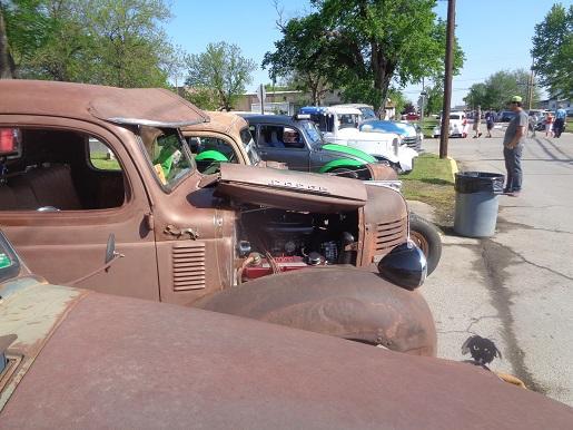 saw 3 VWs at the Stray  Kat...