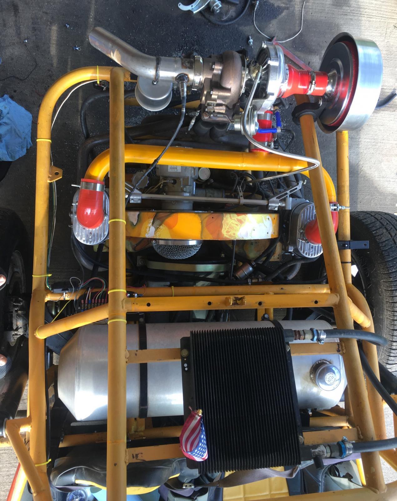 Turbo rail