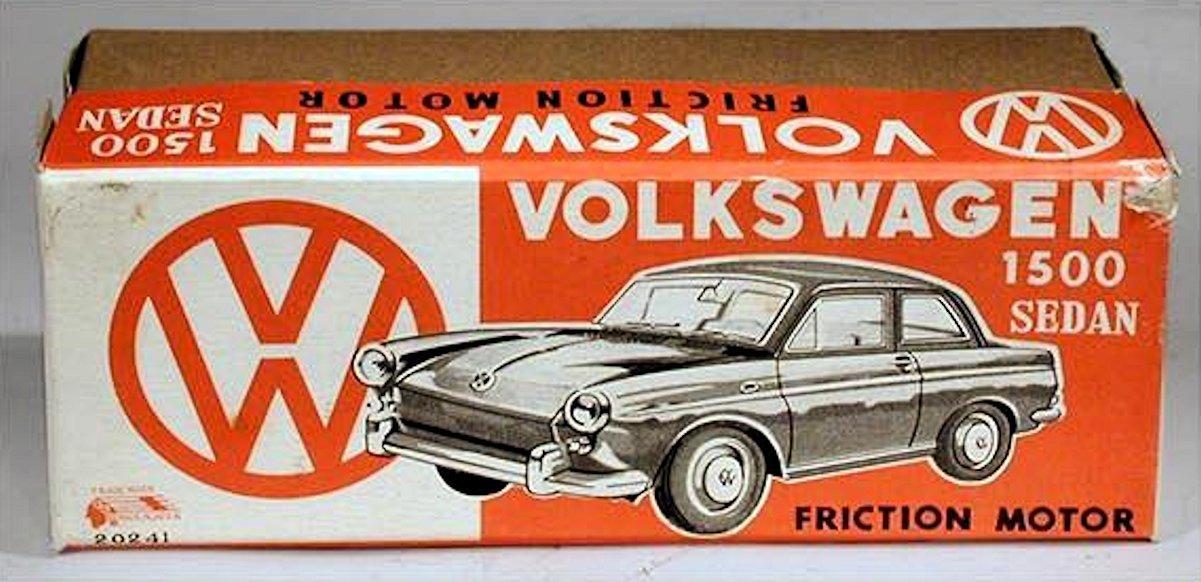 ICHIMURA VW 1500 NOTCHBACK USA ROUTE 66 SOUVENIR-1