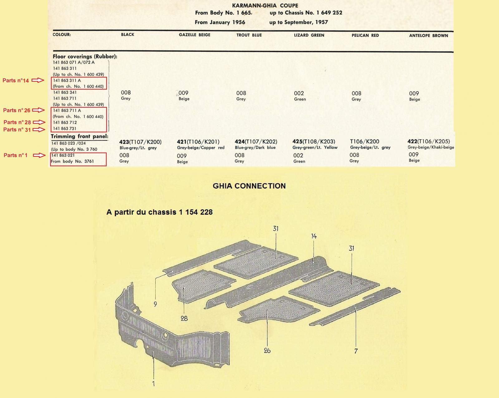 repro interieurs complets pour LOWLIGHT 1778060