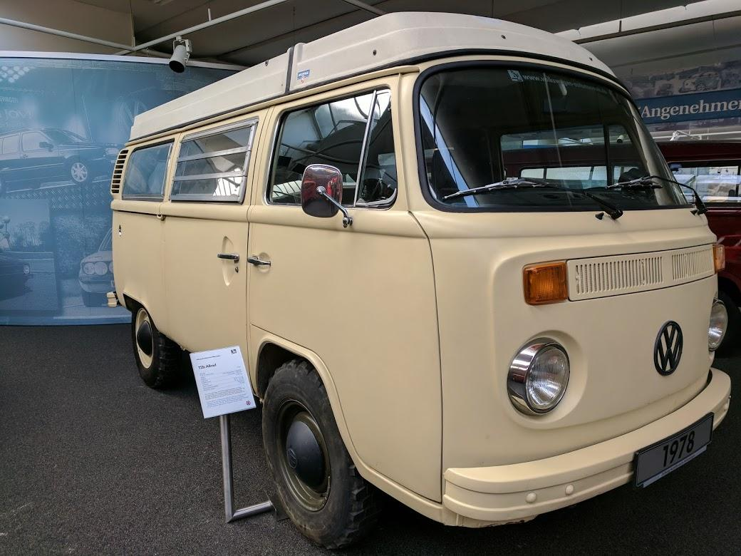 T2 Syncro in Wolfsburg Museum