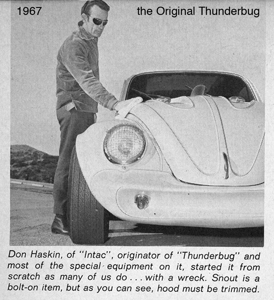 1967 the original Thunderbug