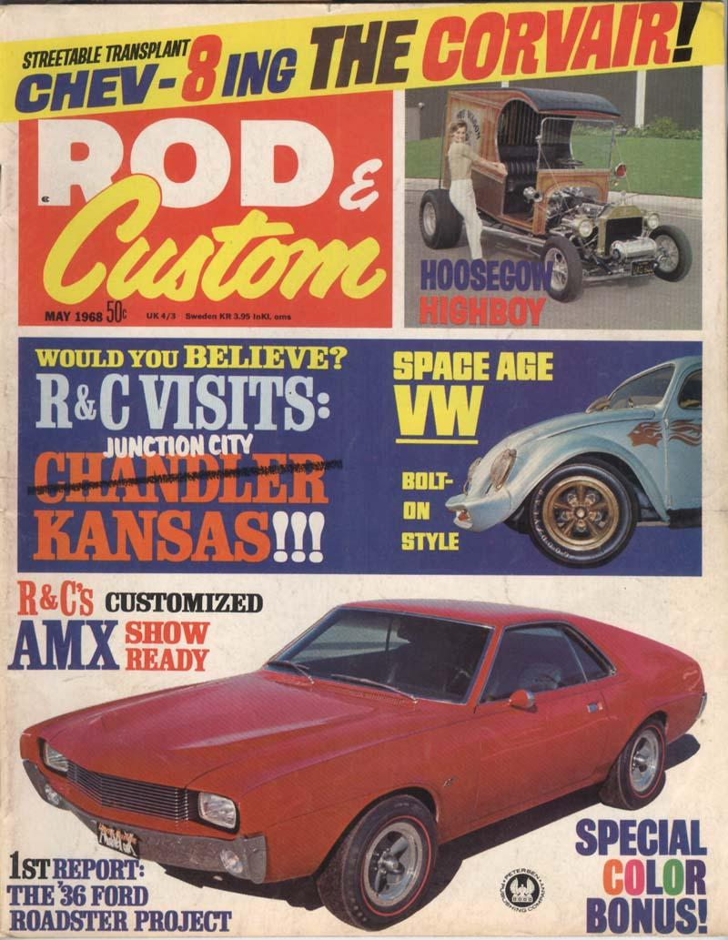The original Thunderbug Rod and Custom cover car