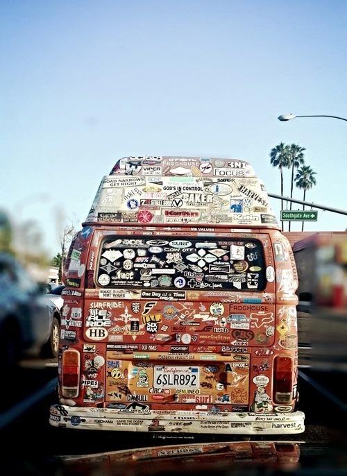Sticker Van
