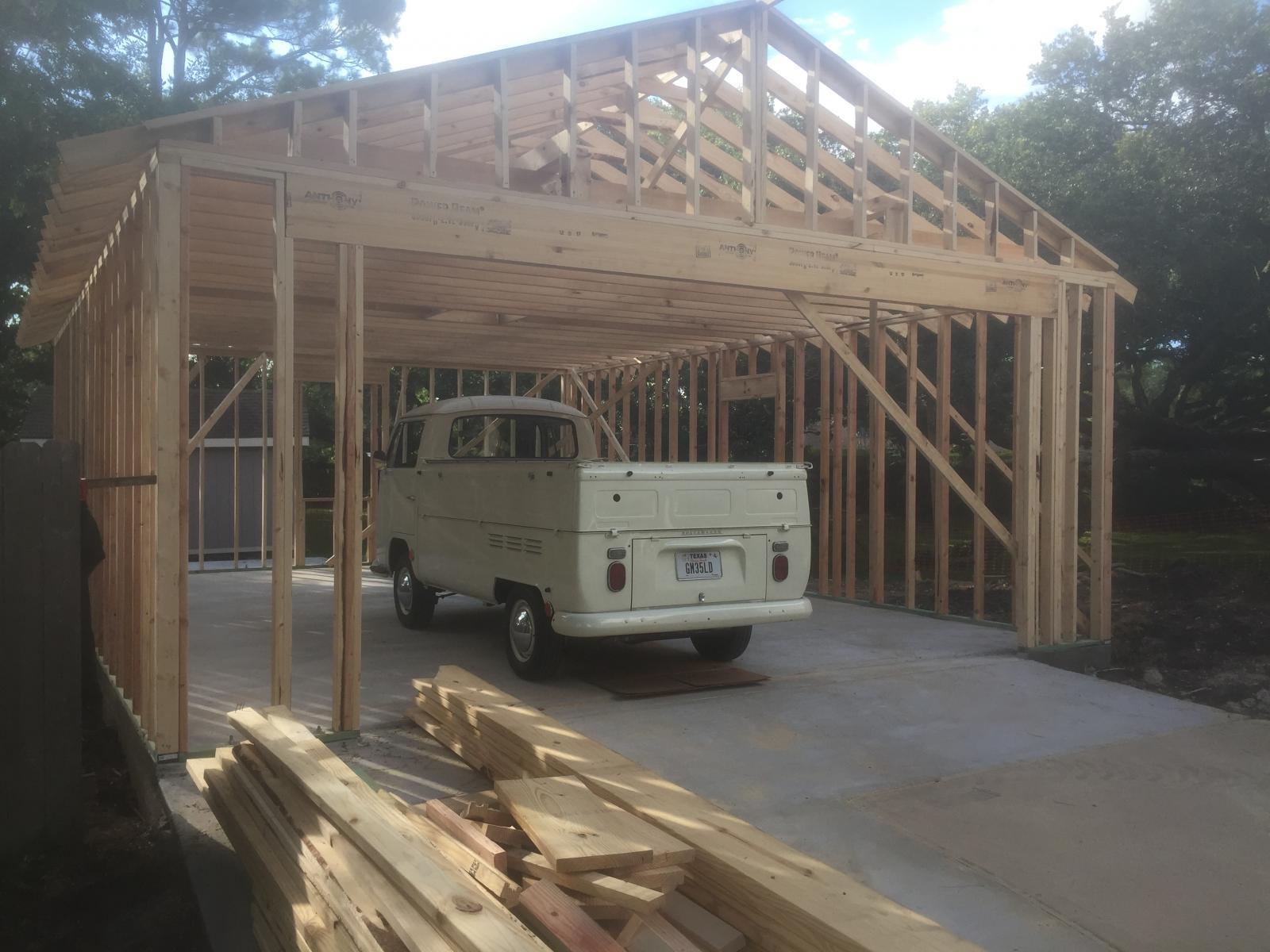 New bus barn