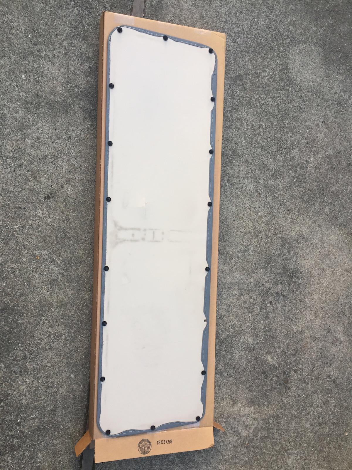 Vanagon Rear Hatch Panel Late Model
