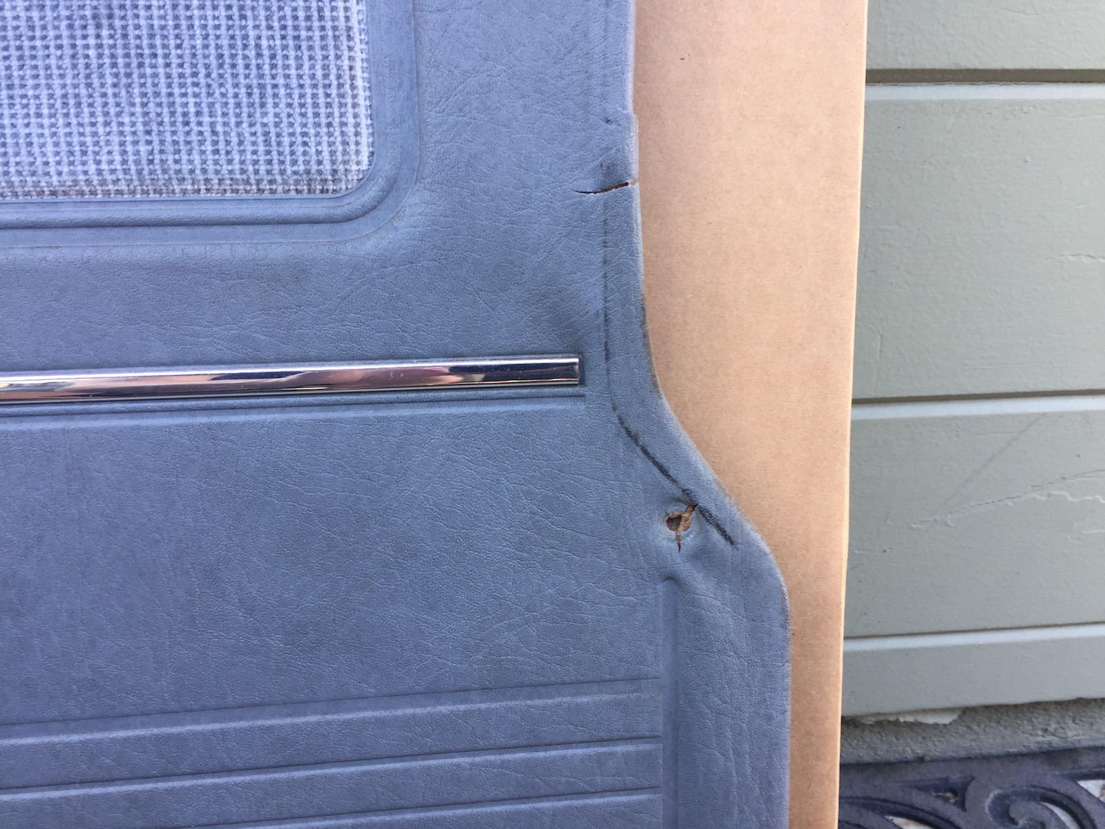 Vanagon Sliding Door Panel Late Model