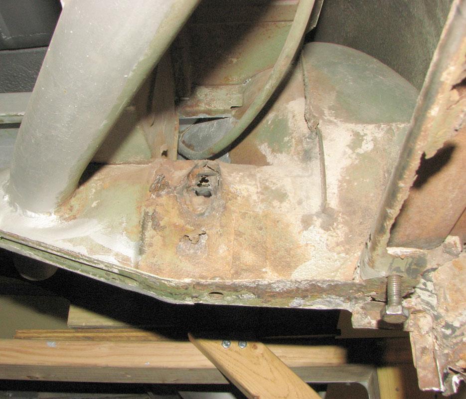 Rear Body Mount Reinforcement