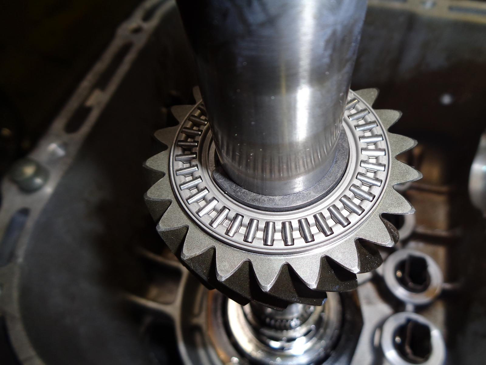 Pinion shaft thrust bearing