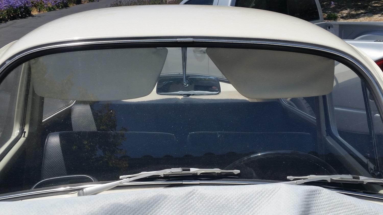 1967 sun visors