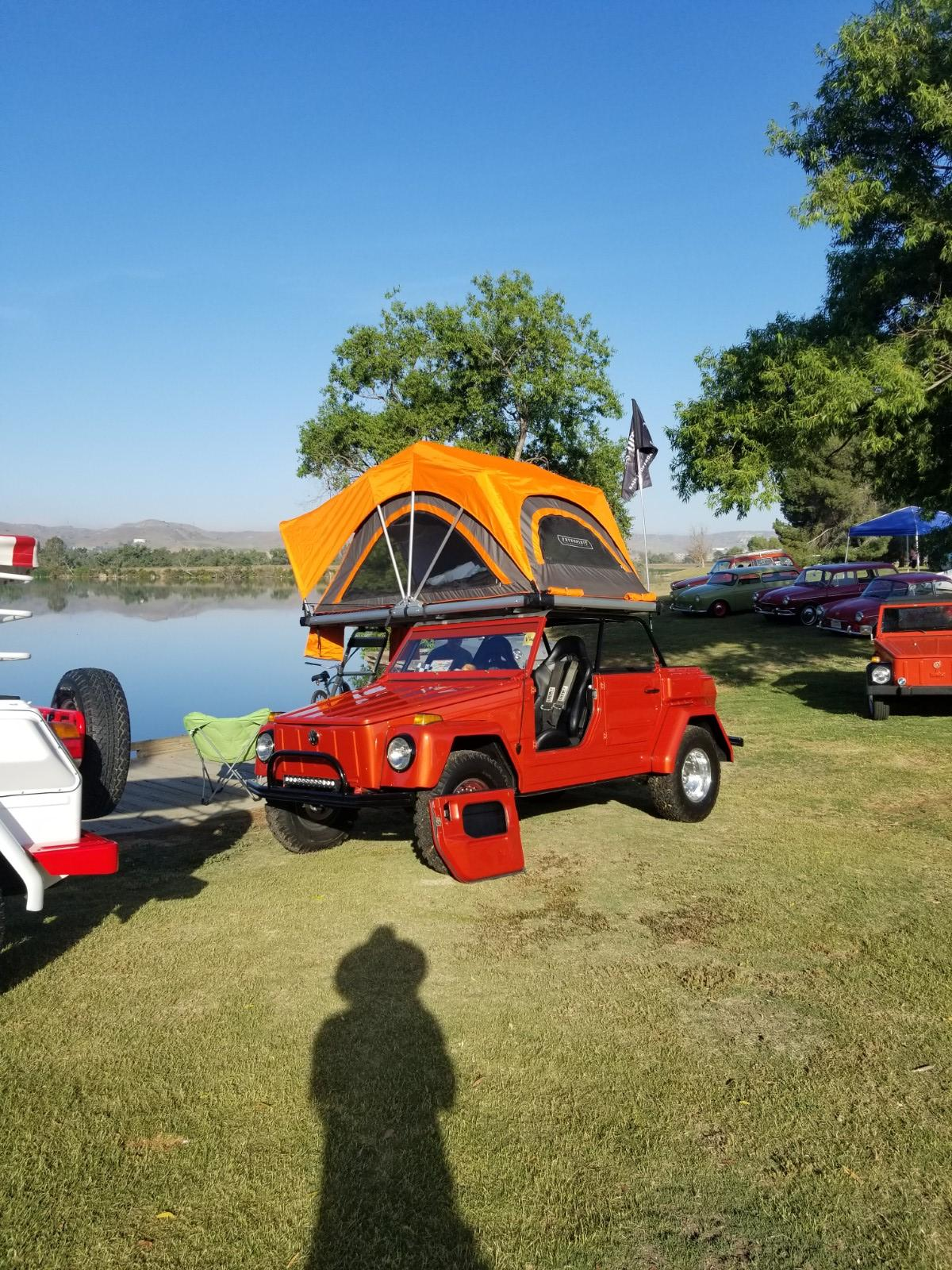 Thing with roof tent