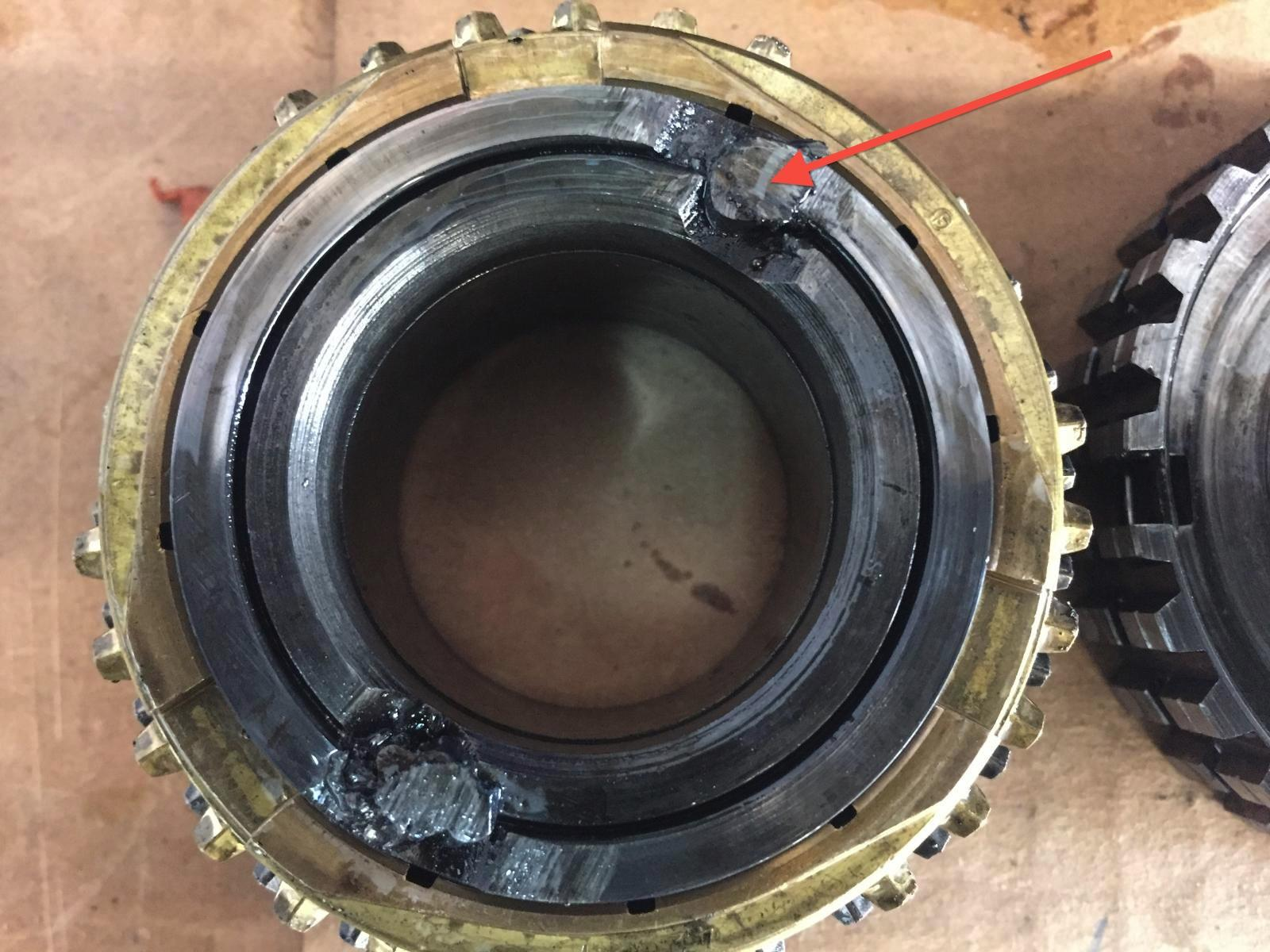 Sloppy 3rd gear weld