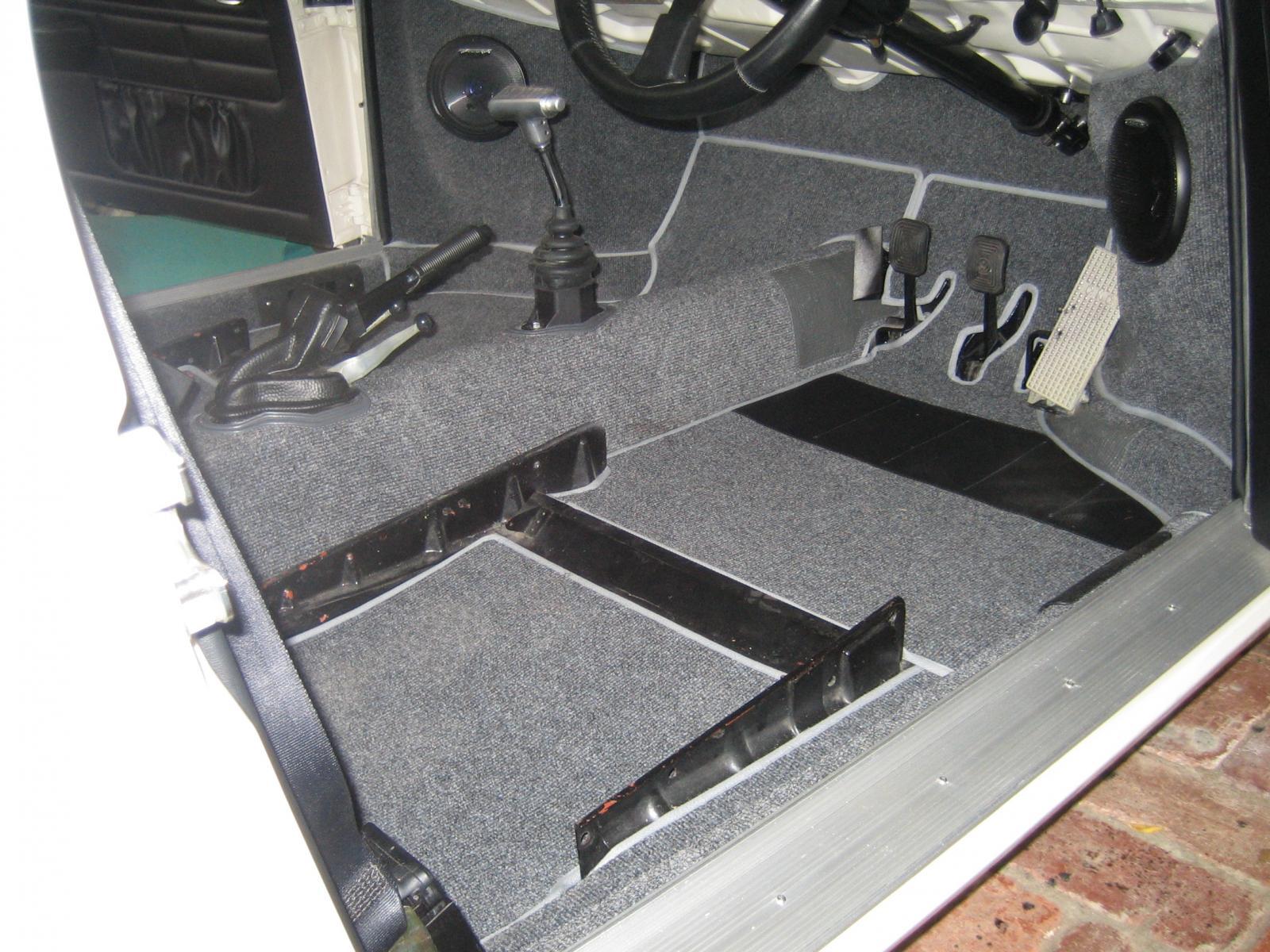 Karmann Ghia 69 newton commercial carpet (RHD)