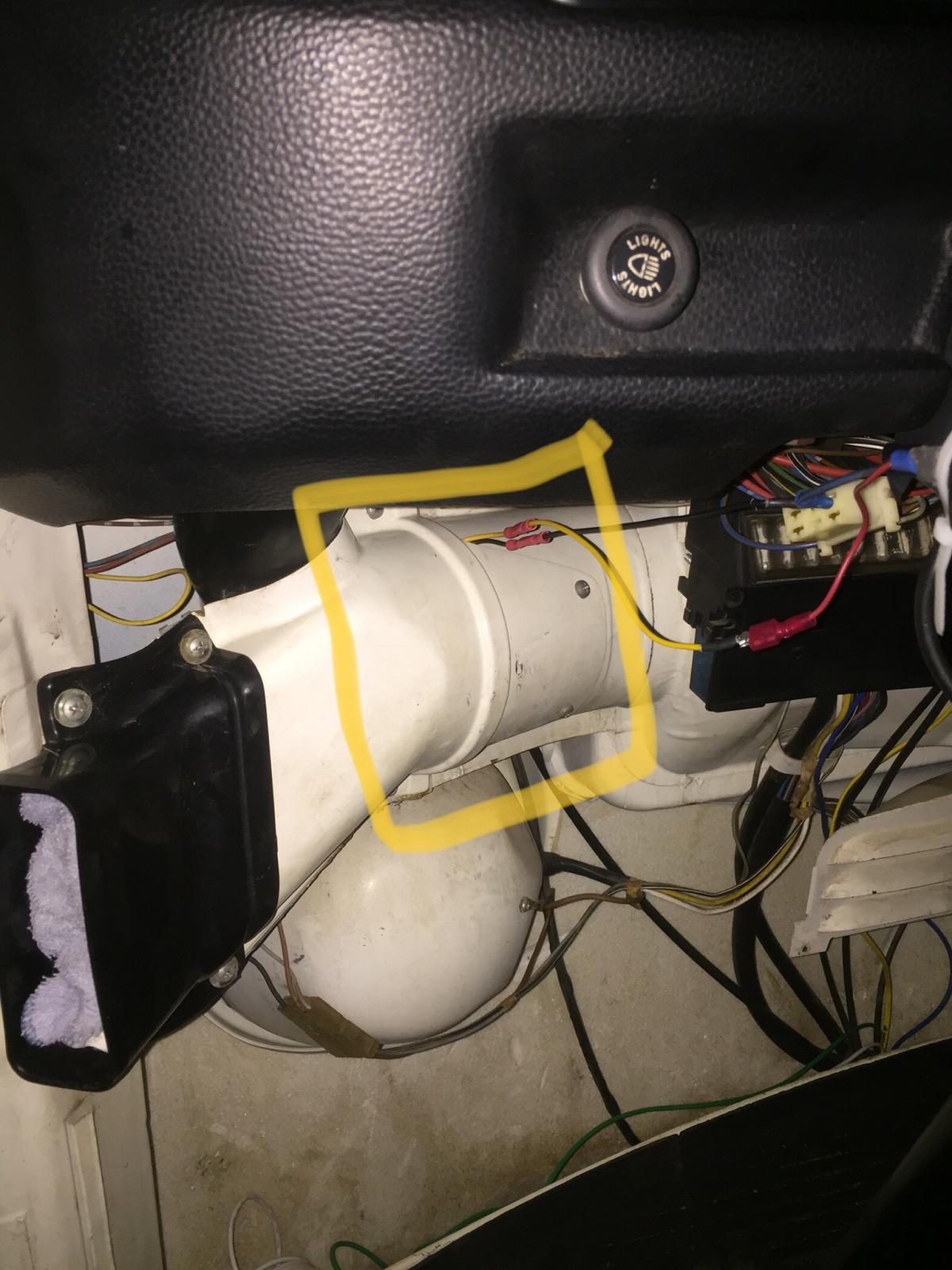 Bulge blower fan