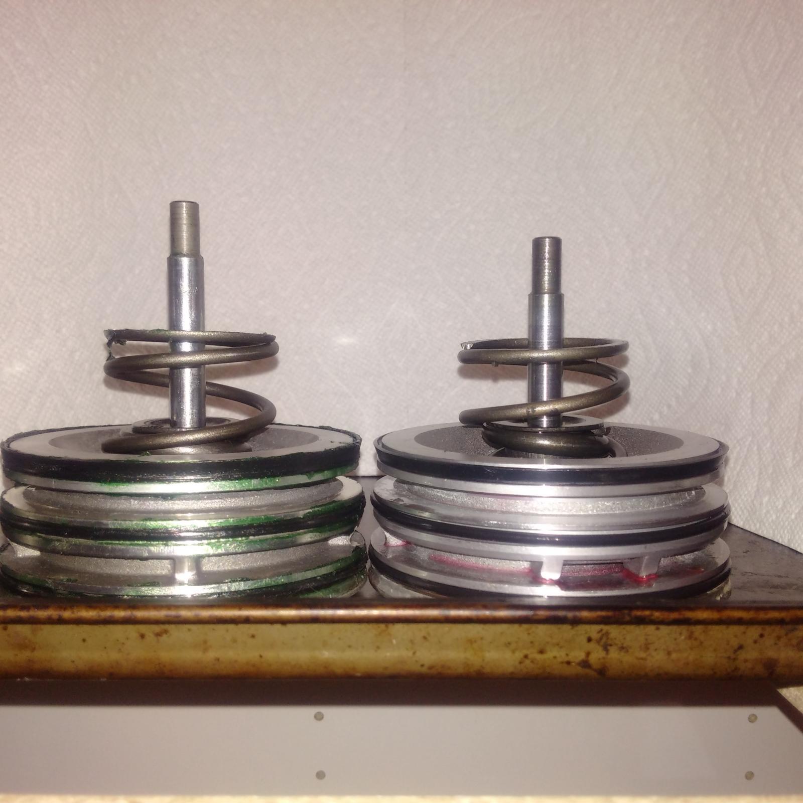 brake band piston comparison