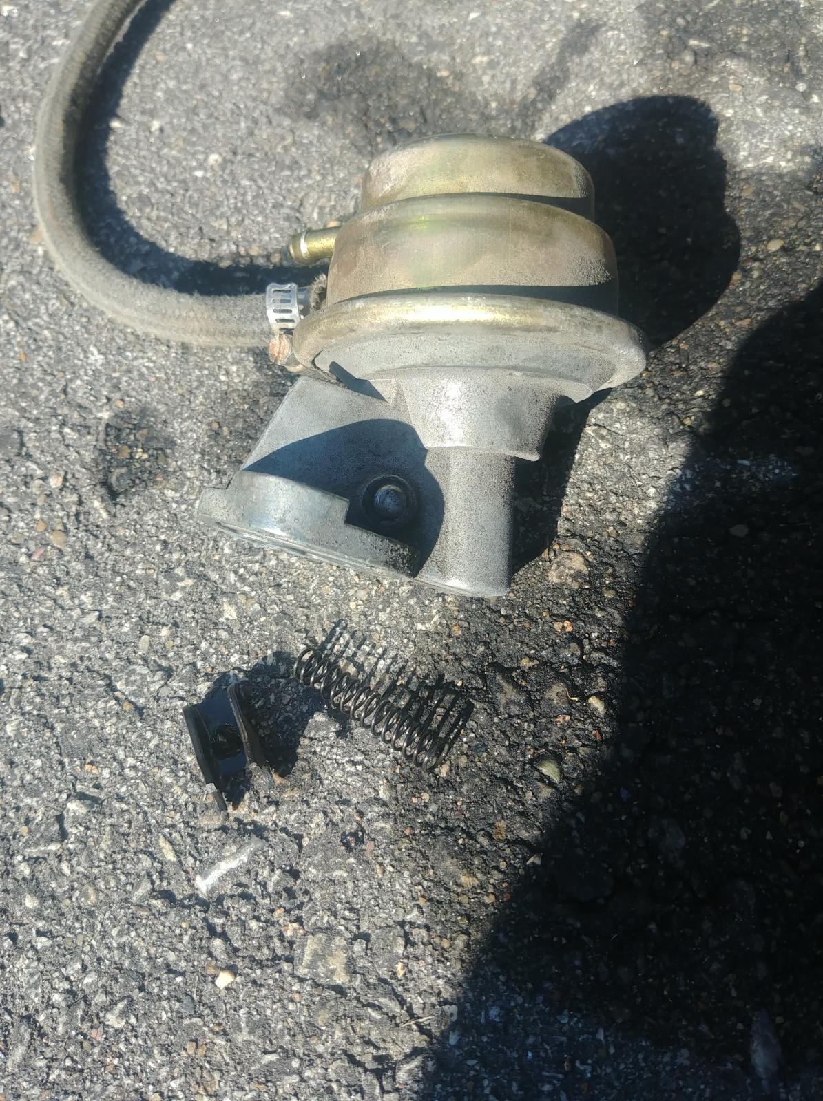 Fuel pump junk
