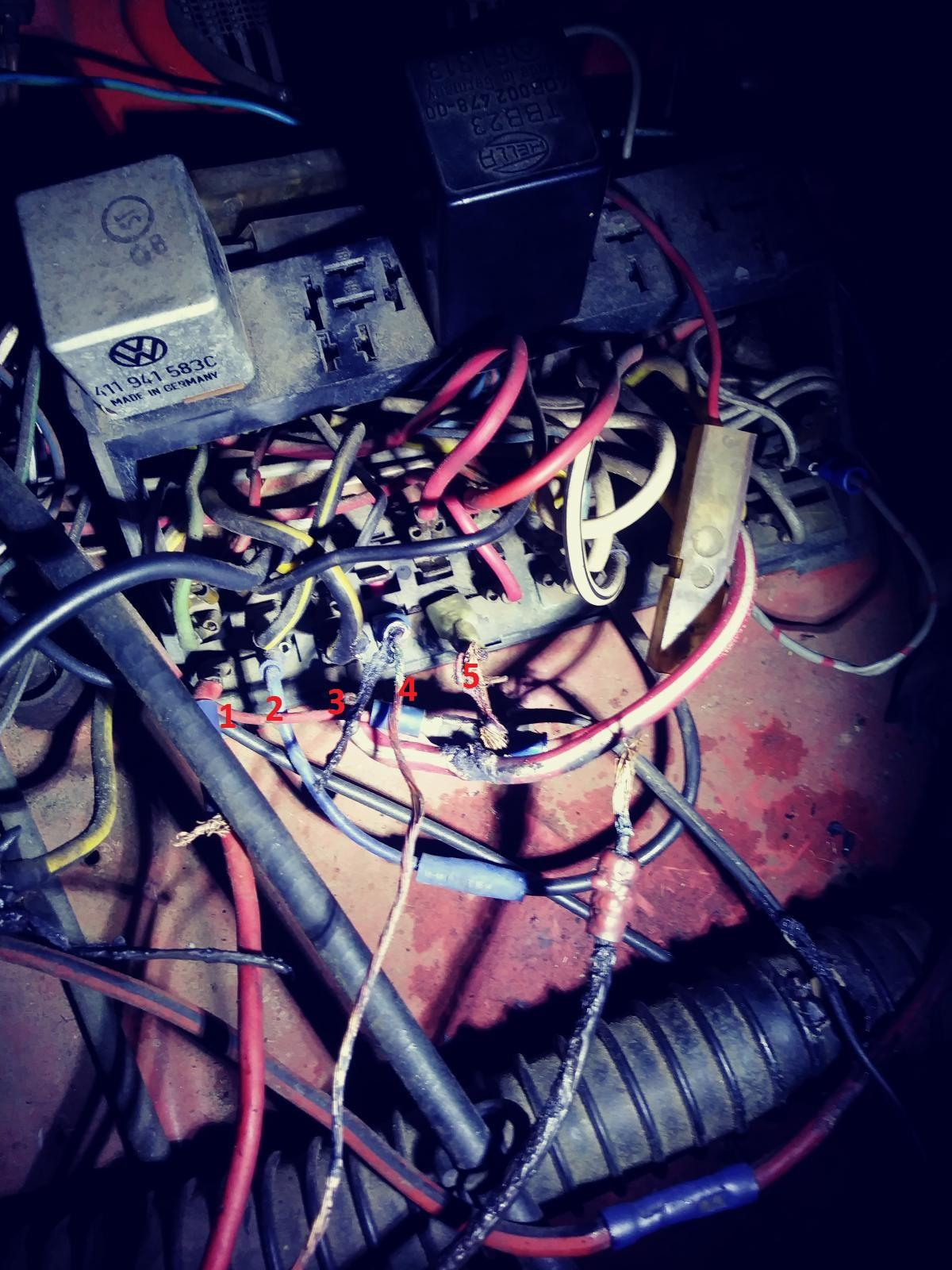72 fuse box issues