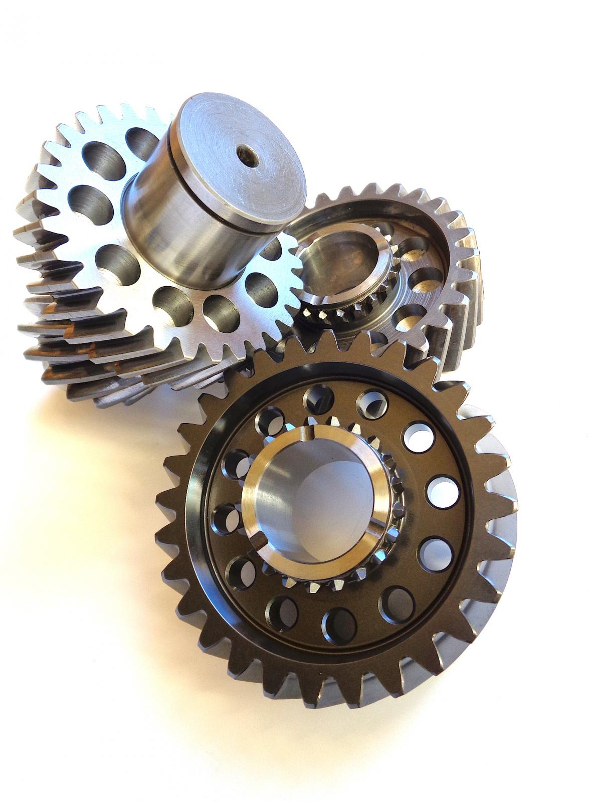 Lightened Syncro 4WD gears