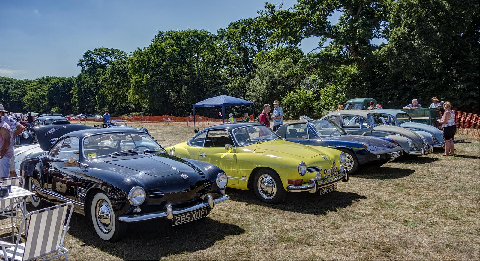 Classic Car Show- Lymington Hampshire UK