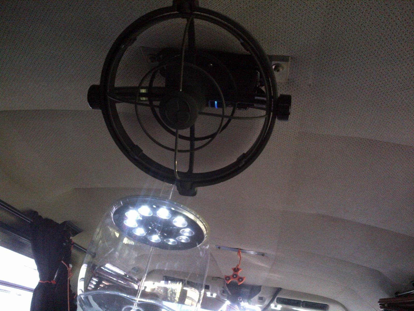 solar panel & fan