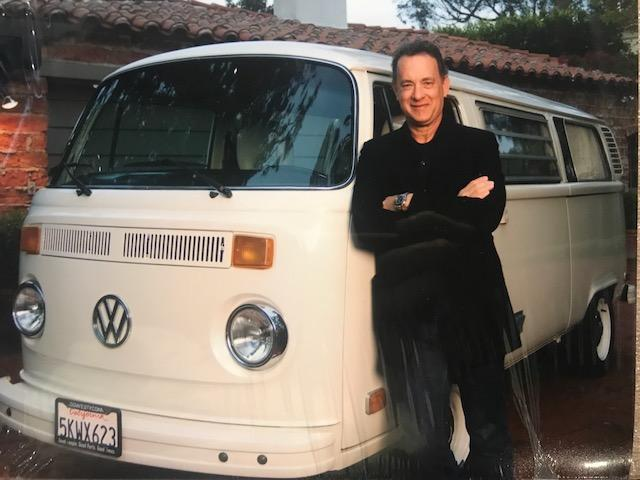 Tom Hanks and his old bay bus