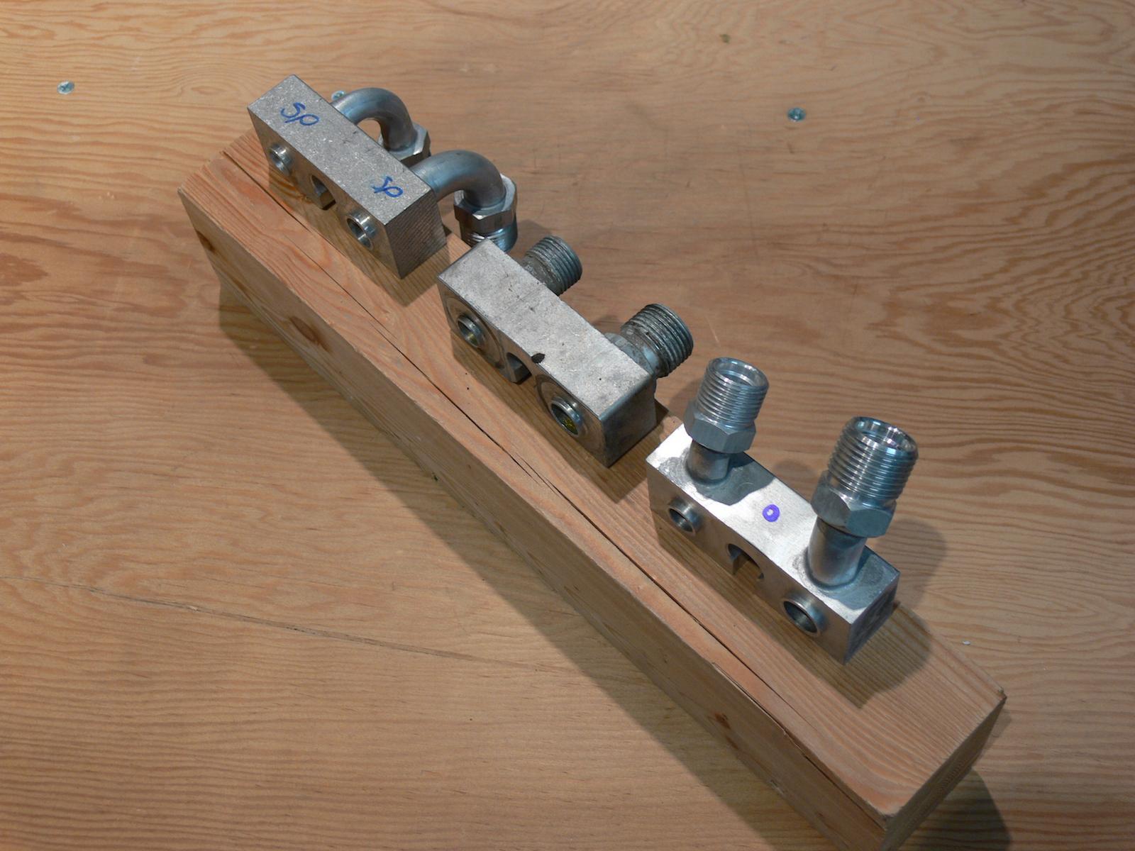 Bostig/Zetec FS-10 a/c compressor blocks