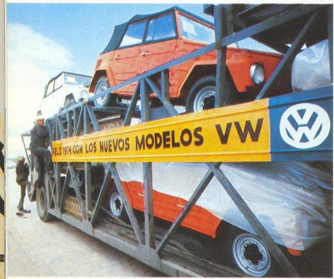 Exported to U.S.A 1974 Volkswagen Puebla, Mexico