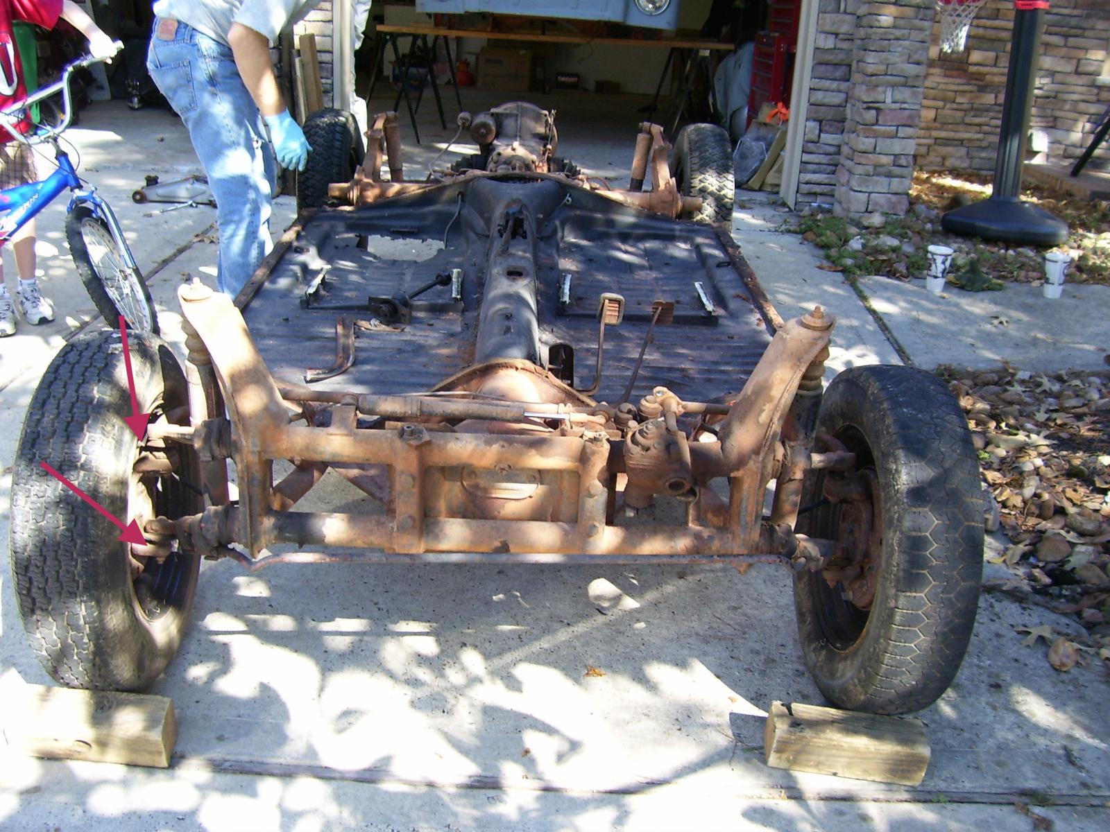 Thing beam chassis