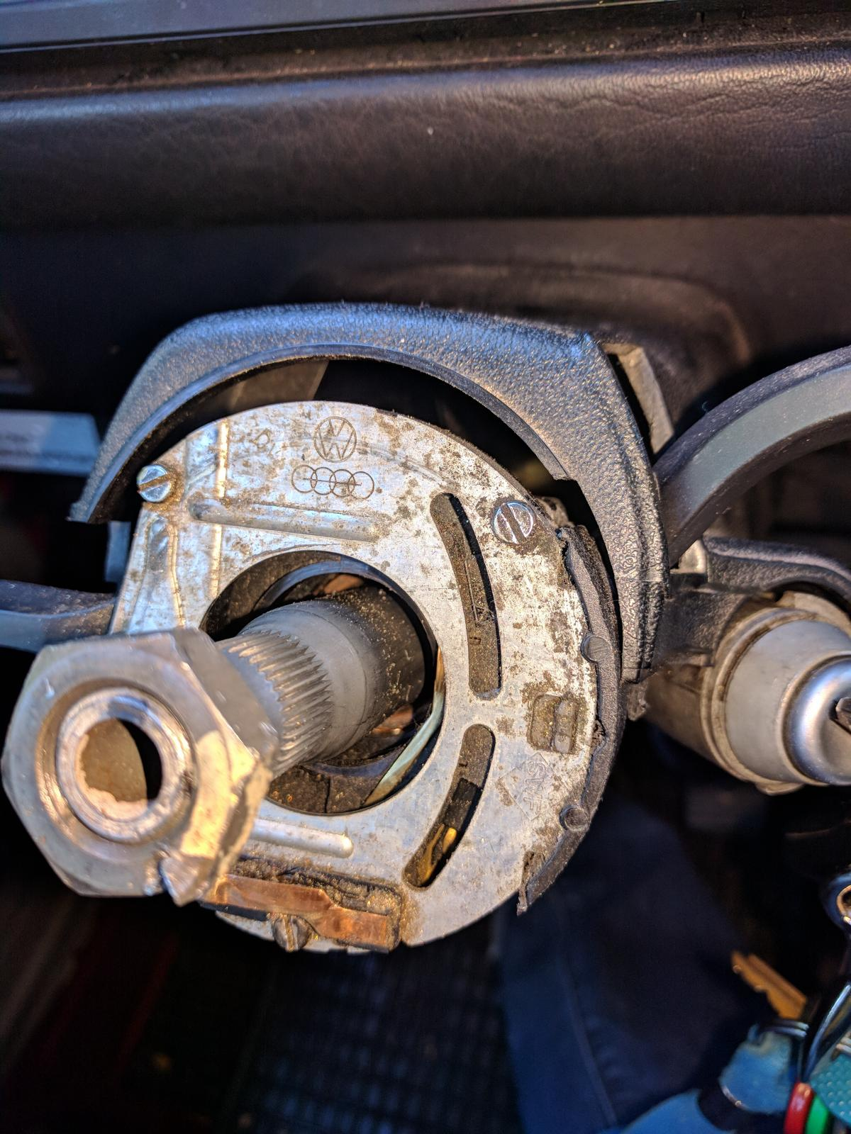 Horn Ring problem on 1989 Vanagon