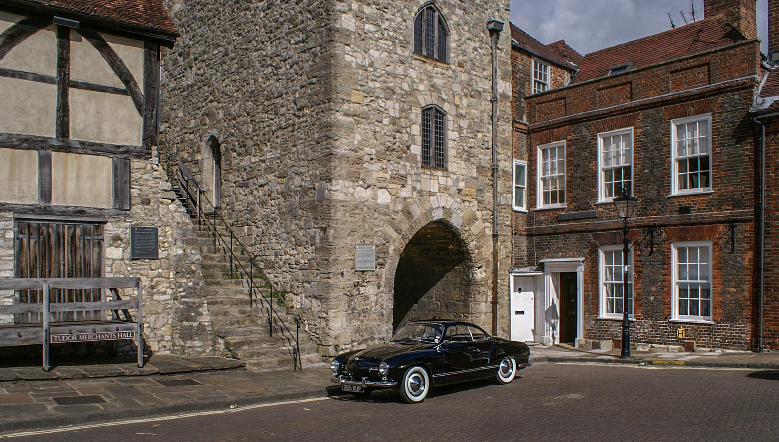 My '58 Ghia Coupe - West Gate, Southampton, UK