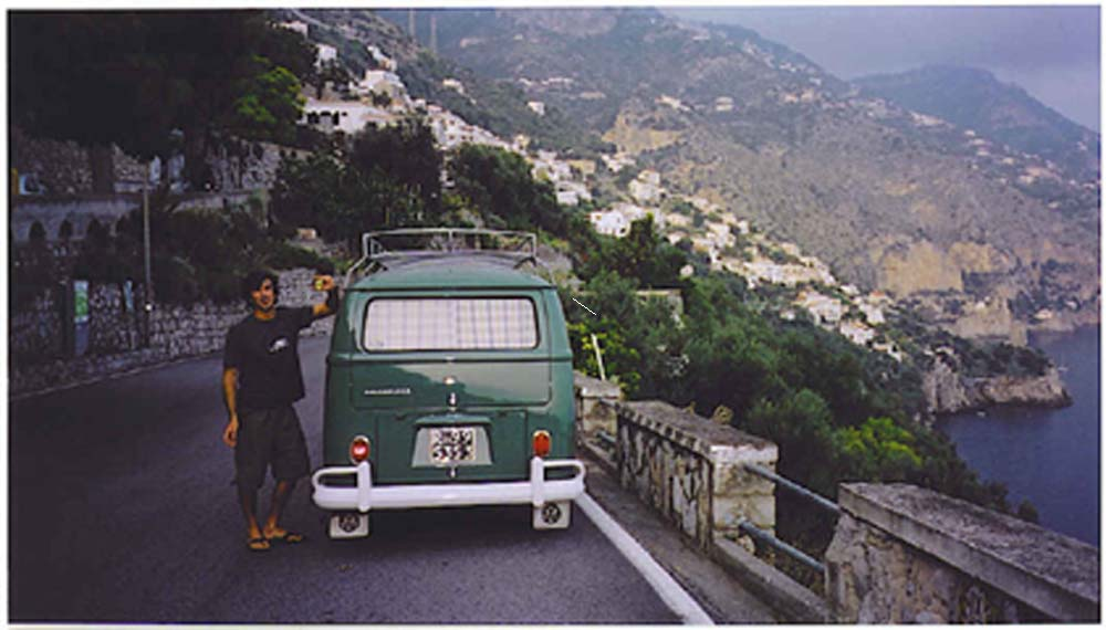 Italy vacation :Amalfi coast .Bobby Hollywood